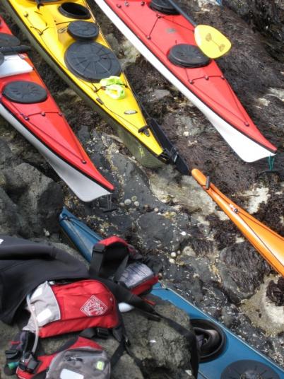 Kayak ends